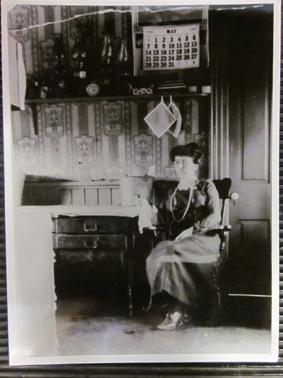 L.M. Montgomery in the Kitchen